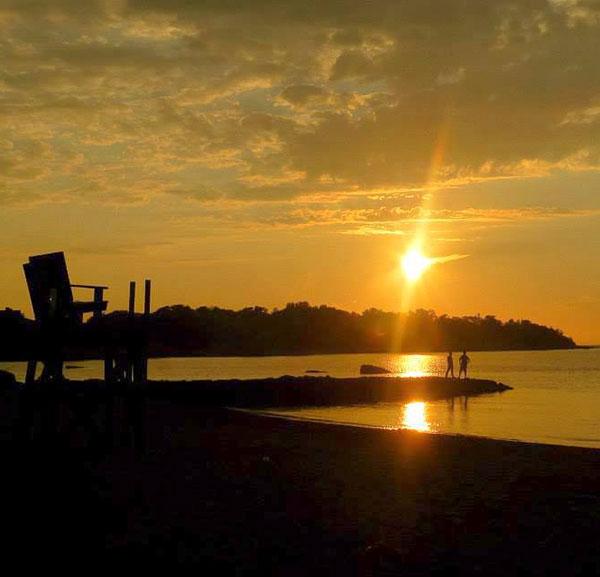 Sunset at Stoney