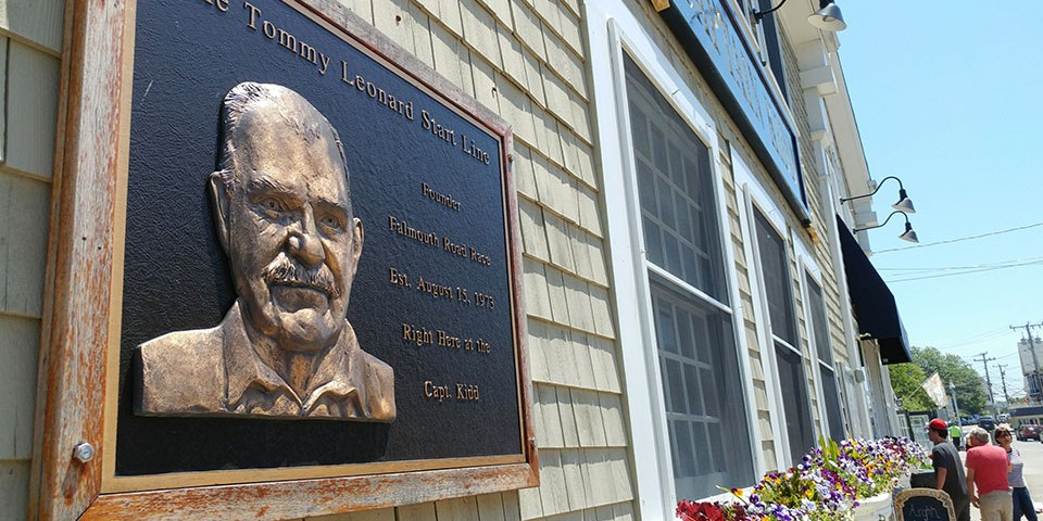 Tommy Leonard plaque
