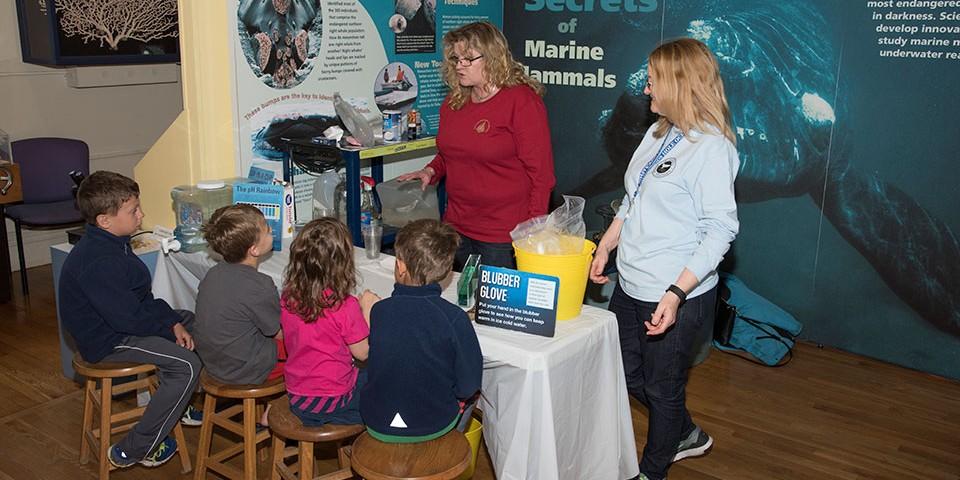 WHOI Ocean Science Exhibit Center
